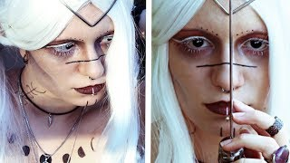 Fantasy Dark Fairy Makeup Tutorial + kleinem CMV