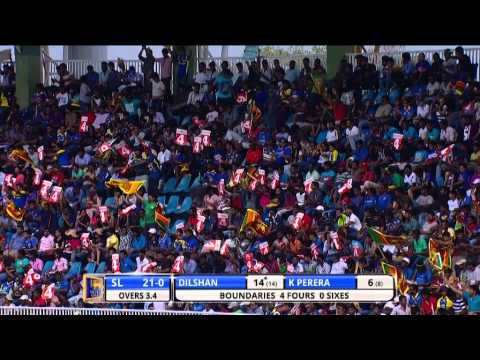 Highlights: 4th ODI, England in Sri Lanka 2014