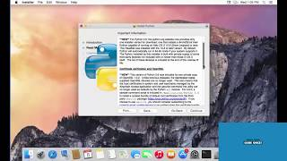 How to Install Python 3.6 on Mac OS X.