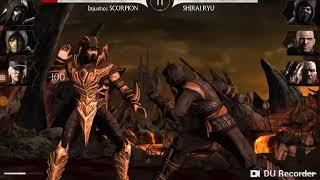 Jugando a mortal kombat x con lucas gamer
