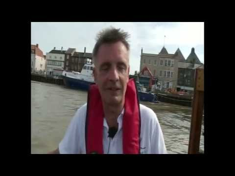 Broad Ambition at sea with the Royal Navy