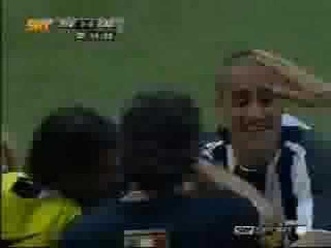 Appiah Juventus-Cagliari 2004-05 partita-scudetto