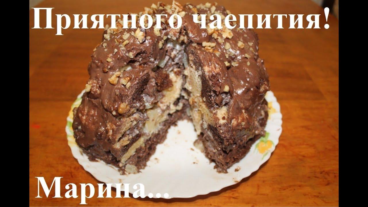 Торт санчо панчо с ананасами в мультиварке рецепт с фото