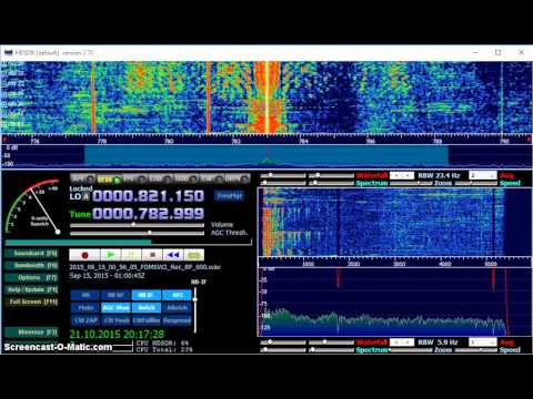 MW DX: Radio Damascus 783 kHz received in Germany