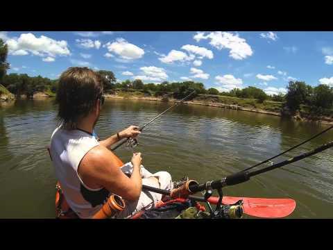 Pesca en Kayak en Rincon de Nogoyá, Entre Rios