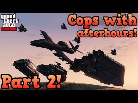 If cops used Afterhours vehicles (Part 2) - GTA Online