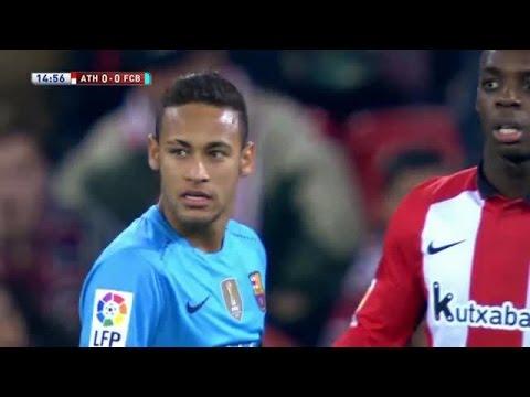 Athletic Bilbao vs Barcelona 1-2 All Goals & Highlights 20.01.2016 | Resumen y goles