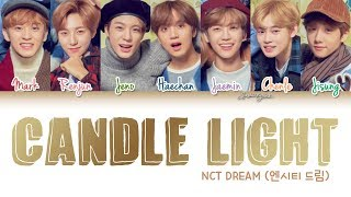 Nct Dream 엔시티 드림 Candle Light 사랑한단 뜻이야 Color Coded Han Rom Eng