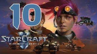 Прохождение StarCraft 2: Wings of Liberty #10 - С ножом у горла [Эксперт]