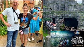 WORTH THE 14 HOUR WAIT?! HAGRID'S MAGICAL CREATURES MOTORBIKE ADVENTURE! | OPENING DAY