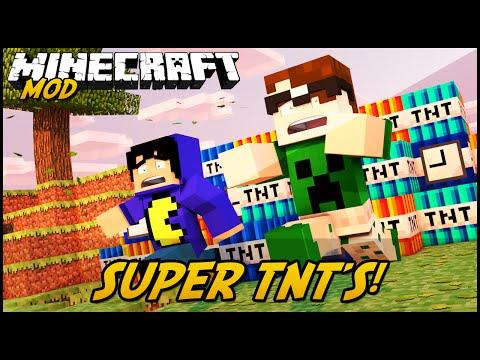 Minecraft Mod: SUPER TNT'S! (Too Much TNT Mod)