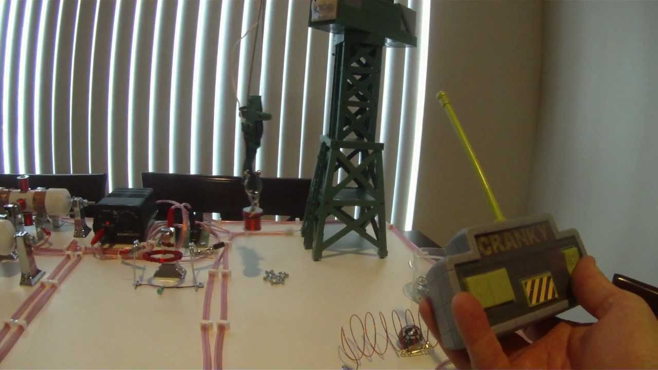 Electromagnet Crane 5th Grade Science Project Youtube