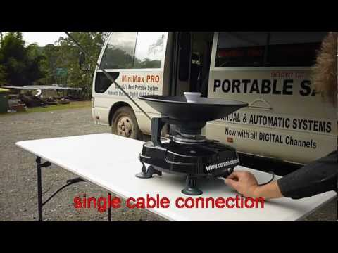 PAPSA. Portable Auto Pointing Satellite Antenna avi