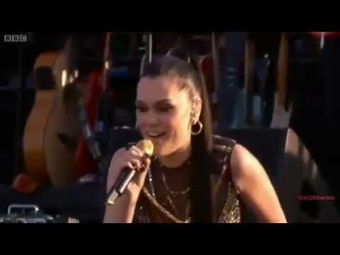 Jessie J - Domino Live at Diamond Jubilee Concert 2012