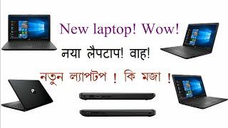 Unboxing New Laptop HP 15 da0077tx Laptop Format OS install Windows 10