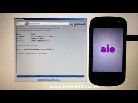 Instant Fast Unlock ZTE Z993 AIO Prelude sim network unlock pin at your home