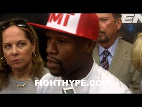 FLOYD MAYWEATHER PLANS TO STAND RIGHT IN FRONT OF MAIDANA I HAVENT BROUGHT MY BEST OUT