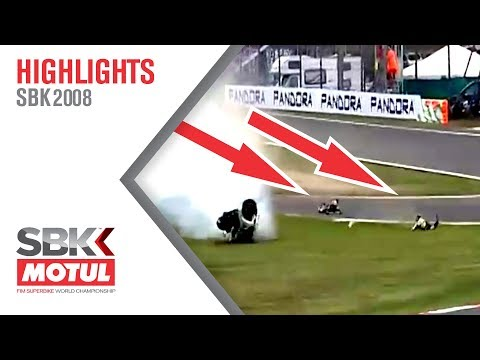 SBK 2008 - What a scare!
