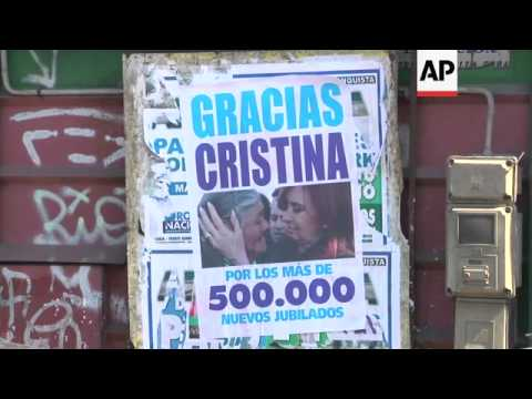36 hour strike by radical labour organisation over taxes and wages in Argentina