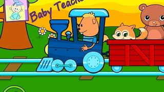 Choo Choo Train - Choices with Sticks. Baby & Toddler Learning | From Baby Teacher