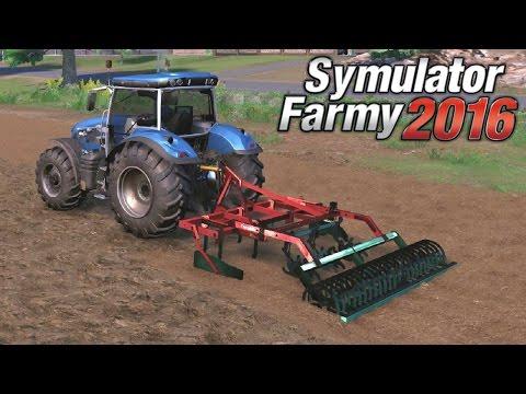 Symulator Farmy 2016 #3 - Kultywacja Z Fizyką Gleby | Gameplay Pl