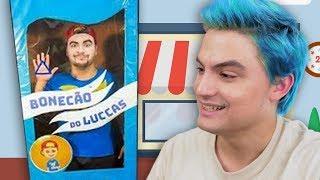 COMPREI UM BONECÃO DO LUCCAS DE VERDADE