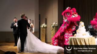 Lion Dance - March In / Marvin Khoo & Joanna Dong Emcee