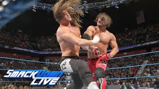 Ziggler vs. Styles - If Dolph wins, he's added to World Title Match: SmackDown Live, Aug. 23, 2016