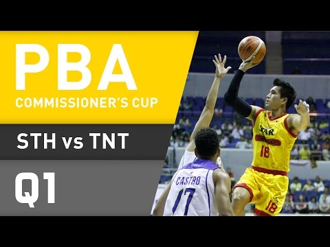 STAR VS. TNT - Q1 | Commissioner's Cup 2016