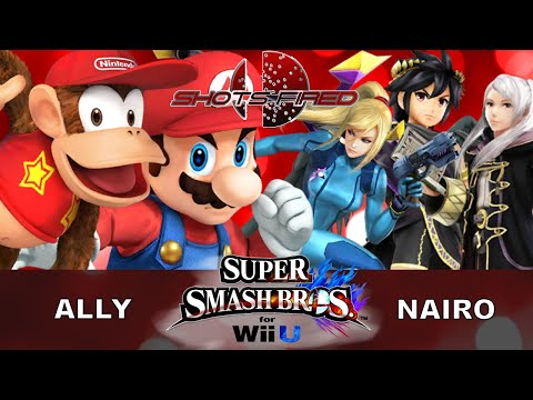 Shots Fired - Ally vs Nairo - GRAND FINALS - Smash Wii U