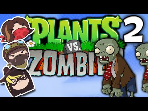 Plants vs. Zombies: Truth Bombs Away PART 2 Steam Train