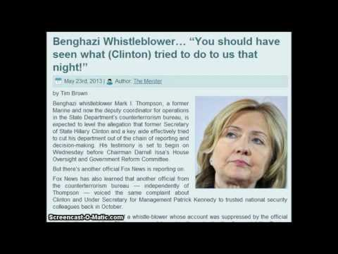 Benghazi Whistleblower...