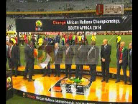 LIBYA  GHANA FINAL PANELTY IN AFRICAN NATIONS CHAMPIONSHIP