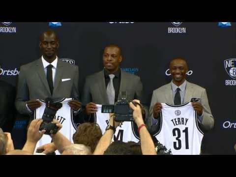 Garnett, Pierce and Terry Say Hello to Brooklyn