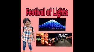 Serunya Elsya nonton Festival of Lights part 1
