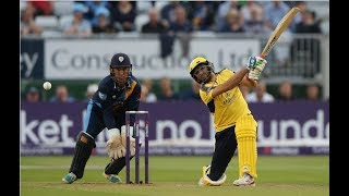 Shahid Afridi Fastest century in county cricket 101 for 42 balls