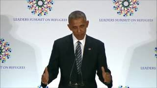 Ethiopia - President Obama praises Ethiopia's role in hosting and supporting refugees