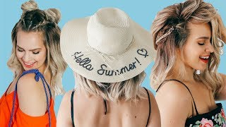 Short Hairstyles for Summer! - KayleyMelissa