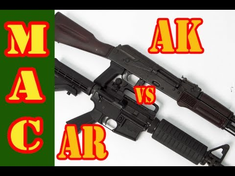 AR vs AK:  Practical Accuracy