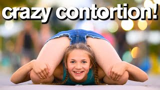 CONTORTION vs GYMNASTICS Photo Dares