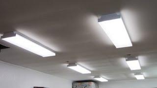 New Shop Lights & How I Installed Them
