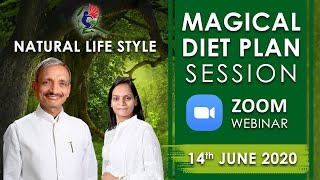 Free Webinar - 14-6-20 Magical Diet Plan - Loose weight - वजन कैसे कम करें - 9 am -11.30 am