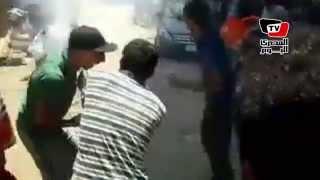 اشتباكات بين الاخوان والمواطنين بدمياط