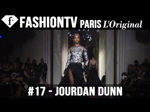 Atelier Versace Fall winter 2014-15 Ft Jourdan Dunn | Paris Couture Fashion Week | Fashiontv video