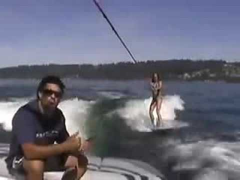 WAKESURF / How to wakesurf Video