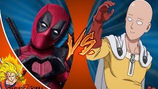 DEADPOOL vs ONE PUNCH MAN (SAITAMA)! Cartoon Fight Club Episode 72 REACTION!!!