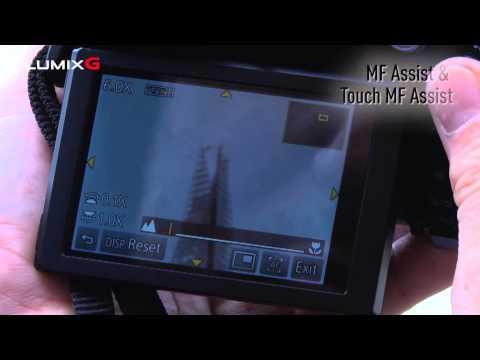 Panasonic Lumix GX7 Tutorials - Using the Manual Focus function