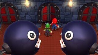 Mario Party 9 - Minigames - Mario VS Luigi (Master COM)
