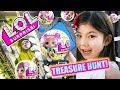 Lagu LOL Surprise Confetti Pop in Beverly Hills! Treasure Hunt + Unboxing! Series 3 L.O.L. Lil Sisters