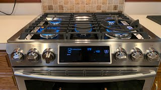 01. Samsung NX58H9500WS Gas Range / Oven Natural Gas to LP Conversion